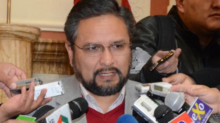 Alfredo Rada, viceministro de Coordinación con los Movimientos Sociales. (APG)