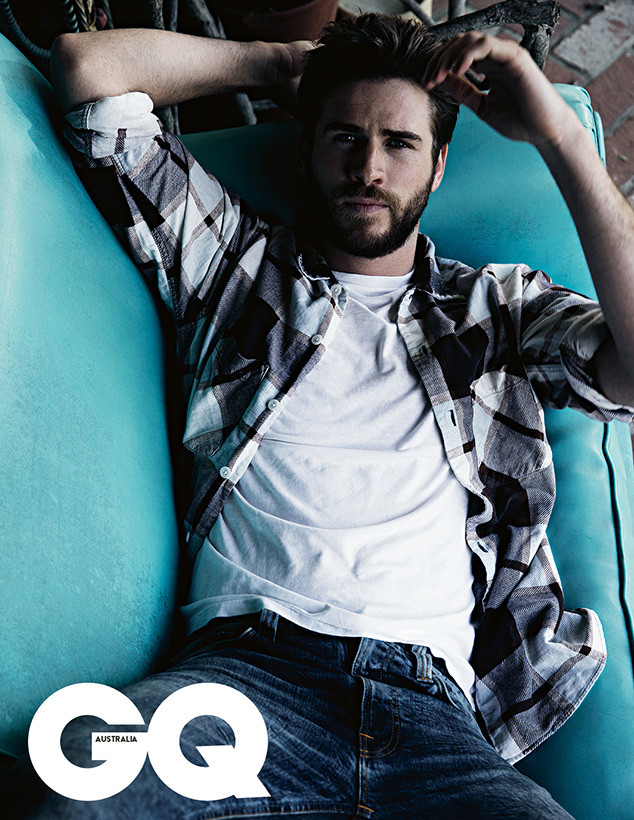 Liam Hemsworth, GQ Australia