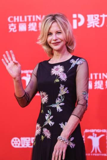 Meg Ryan, en el festival de Shanghai.