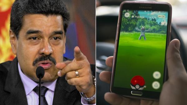 Nicolás Maduro habló del Pokémon Go (AP)