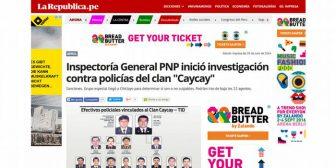 Perú: piden protección para periodista que reveló escuadrón de la muerte
