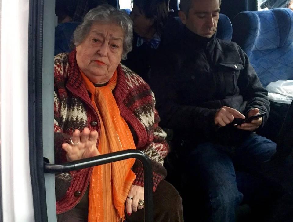La presidenta de la asociación de derechos humanos argentina Madres de Plaza de Mayo, Hebe de Bonafini, en una foto de archivo del 5 de agosto de 2016.