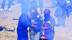 Dirigente minero advirtió con el asesinato en tres ocasiones