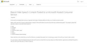 Microsoft lanza nueva vía para la denuncia de contenidos apropiados en sus servicios