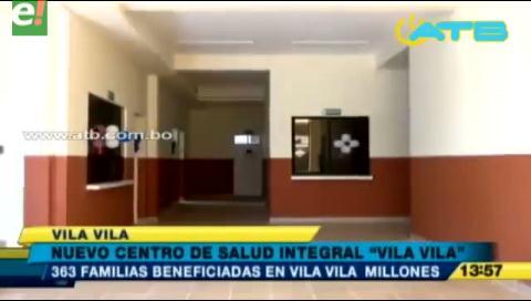 Centro de Salud en Vila Vila beneficiará a más de 300 familias