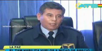 TAM dispone vuelos solidarios entre La Paz y Cochabamba