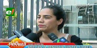 Dueñas de local que fueron extorsionadas amplían denuncia contra ex fiscal Flores