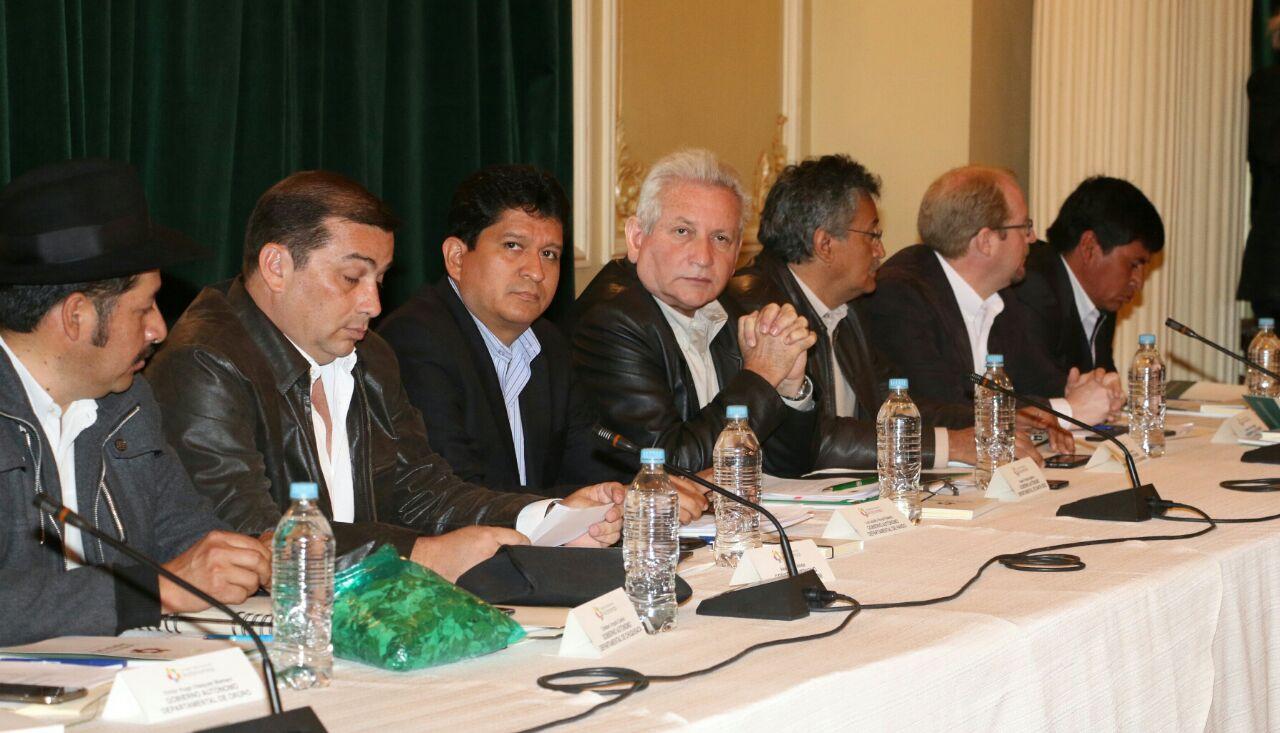 Consejo Autonómico decide apurar proceso de Pacto Fiscal