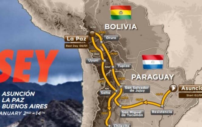 Conozca el recorrido que desarrollará el Dakar 2017 en Bolivia