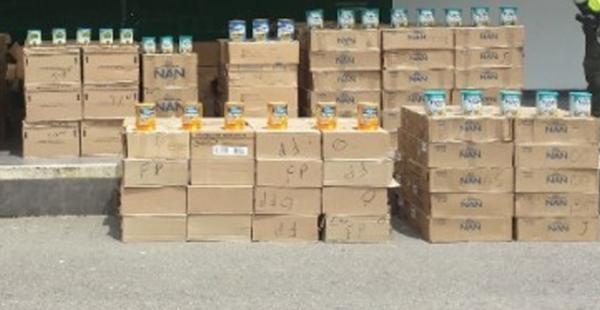 La Aduana extrema esfuerzos para controlar el contrabando de leche, a pesar de que no existe una norma específica para el sector