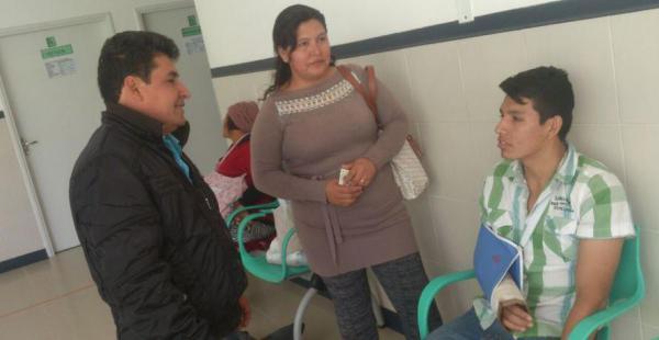 La familia Silva se benefició con el nuevo seguro, pues el hijo se fracturó un brazo el domingo