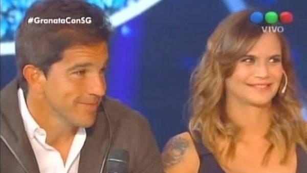 La entrevista con Amalia Granata midió más de 21 puntos de rating. (Captura TV)