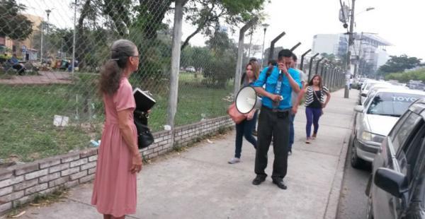 Cadima fue reprendido por la vocal Miriam Guzmán por hacer proselitismo el día de la votación
