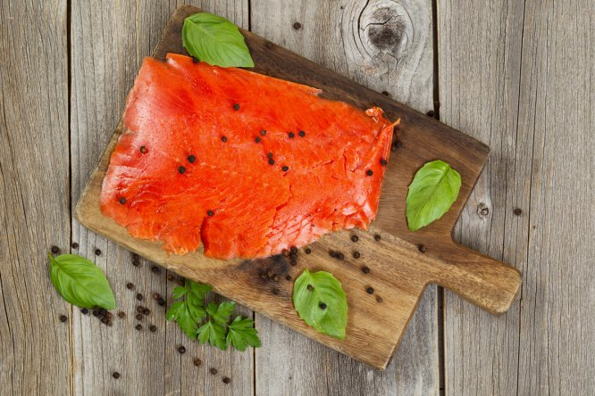 En especial azul, como la sardina o el salmón. Receta
