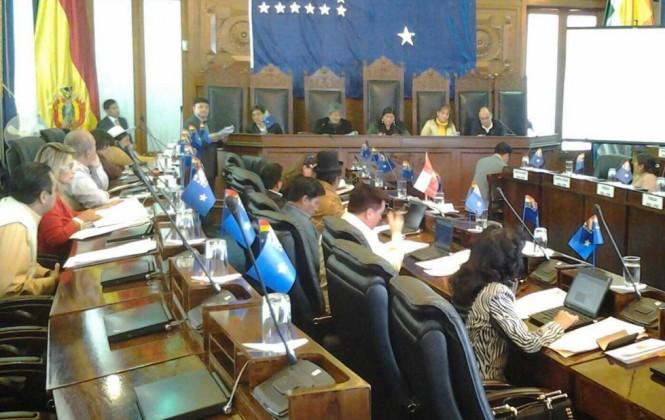 Debate de más de 4 horas del MAS sobre Reglamento de Ética antecede a la sesión del Senado