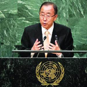 Ban Ki-moon pide no aferrarse al poder y respetar la democracia