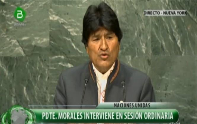 Evo denuncia ante la ONU que la DEA negociaba con la mitad de la droga incautada en Bolivia
