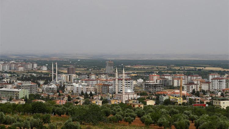 La ciudad turca de Kilis cerca de la frontera turco-siria, el 11 de mayo de 2016.