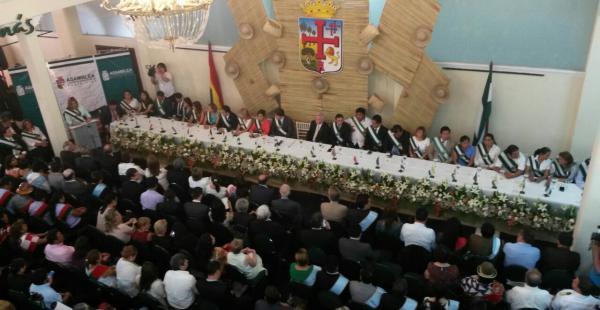 Sesión de honor de la Asamblea Legislativa