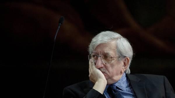 Dante Caputo, ex canciller durante el Gobierno de Raúl Alfonsín.