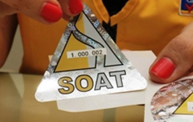 Gobierno crea la viñeta electrónica para el SOAT