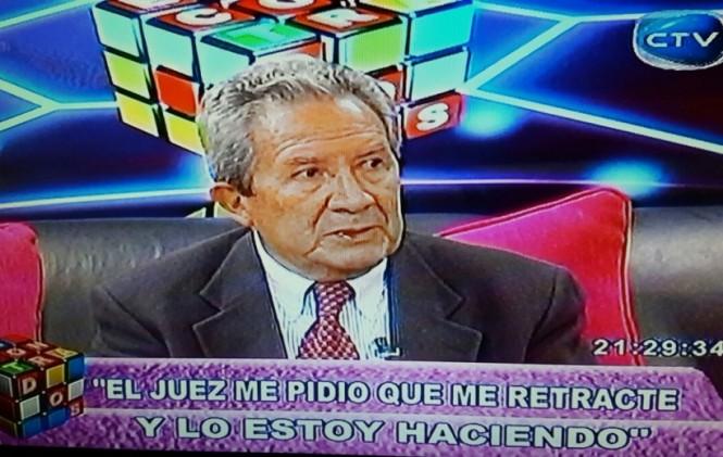 Vacaflor acata orden de juez y se retracta de sus declaraciones vertidas contra el presidente Morales