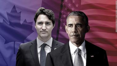 Aunque son los principales socios comerciales del mundo, la relación entre Canadá y Estados Unidos ha tenido algunos problemas en los últimos años. (Crédito: Gwen Sung/CNNMoney/Getty Images/Shutterstock)