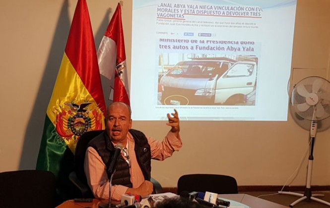 Caso Abya Yala: UD formaliza denuncia contra Quintana por cuatro delitos