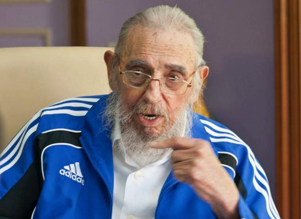 El ex gobernante cubano Fidel Castro en una imagen del 25 de septiembre en La Habana, Cuba.