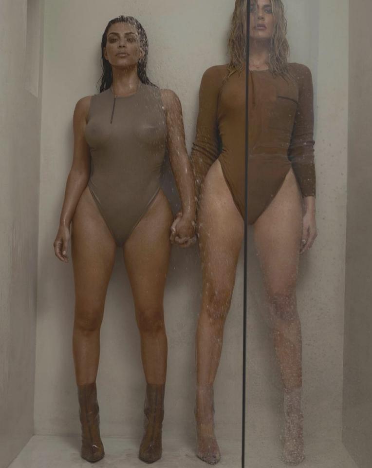 <p>El objetivo de Mert & Marcus ha sido el encargado de fotografiar los cuerpos de las dos hermanas, mientras que el propio Kanye West (el marido de Kim) se ha ocupado de la dirección artística. (Foto: Instagram / @032c). </p>