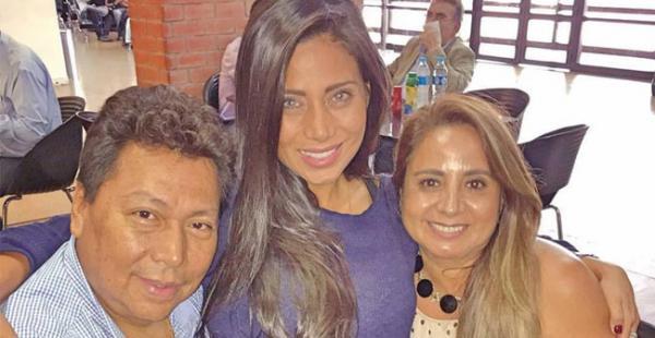 Jorge Arias, Sisy Arias en uno de sus encuentros familiares