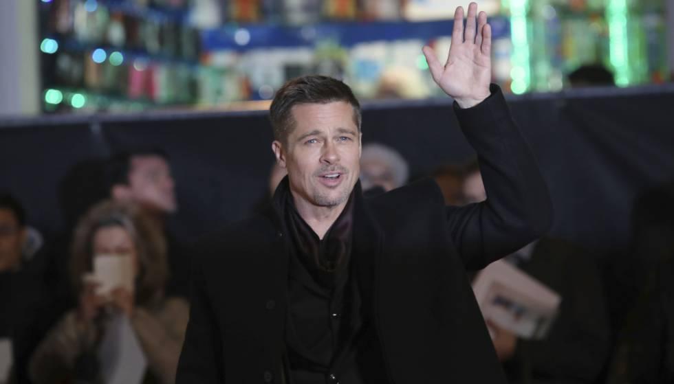 Brad Pitt, en su reciente estancia en Madrid.