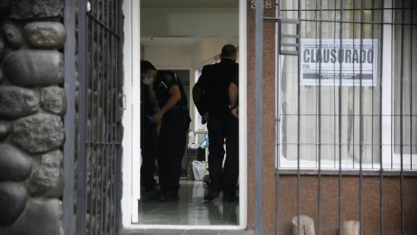 El operativo de detención de Carlos Gustavo Arzuza. Delfo Rodriguez.