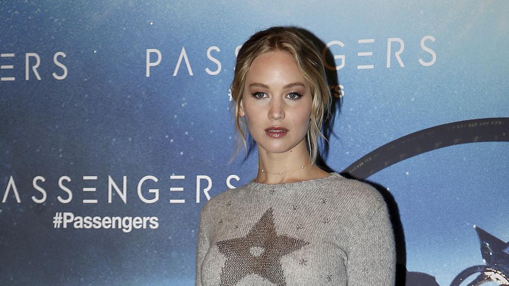 Jennifer Lawrence, su culo y unas rocas sagradas