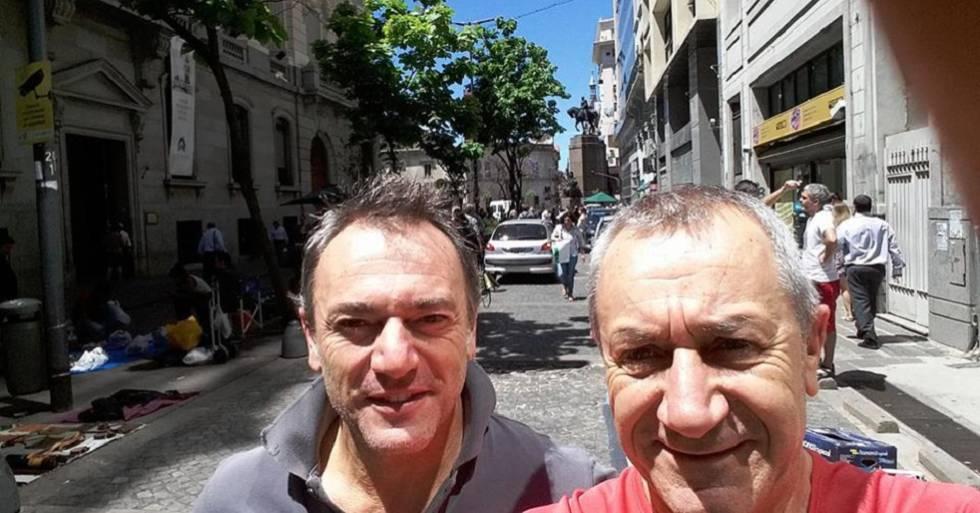 Roberto Bardella, 52 años, (i) y Rino Polatto (d) de 59