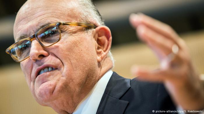 El exalcalde de Nueva York Rudy Giuliani