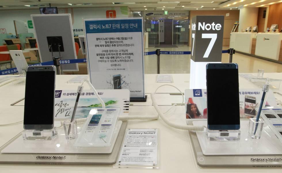 Samsung actualizará el sistema operativo del Note 7 para evitar problemas con la batería.