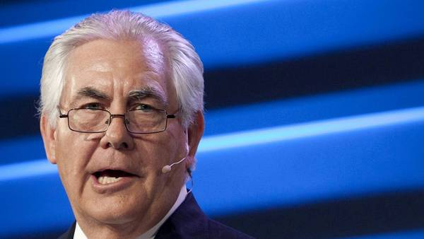 Ejecutivo. El CEO de ExxonMobil, Rex Tillerson, tiene fuertes vínculos con Rusia. /REUTERS
