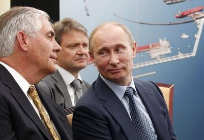 Tillerson con Putin. (EFE)