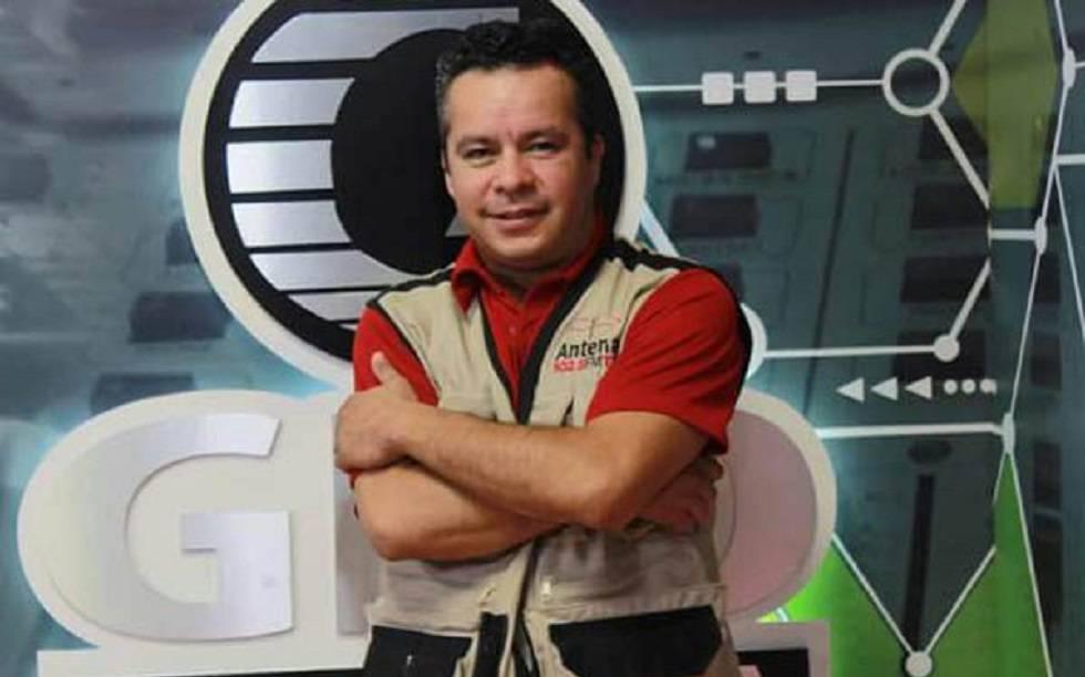 El periodista asesinado Jesús Adrián Rodríguez Samaniego.