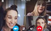Las videollamadas en grupo de Skype llegan a Android y iOS