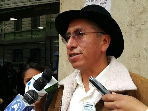 El exmagistrado suspendido de Tribunal Constitucional Plurinacional (TCP), Gualberto Cusi. Foto: La Razón