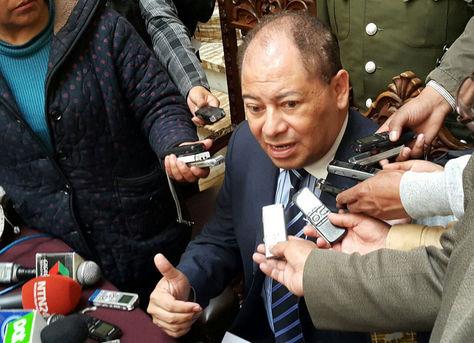 Romero en rueda de prensa en Palacio este martes