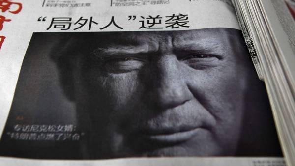 Portada. Los diarios chinos se hicieron ecos de las polémicas declaraciones del presidente electo de Donald Trump sobre Taiwán. /AFP
