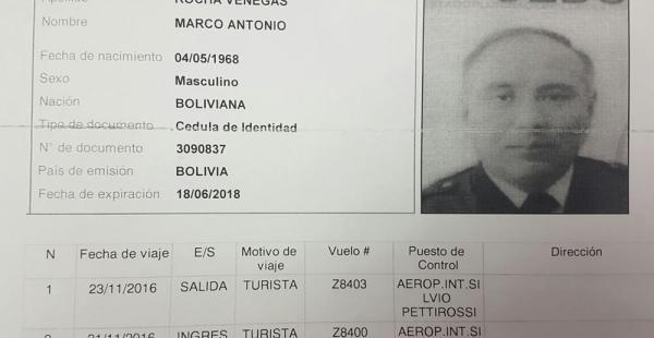 Migración de Paraguay informa que Rocha entró y salió de ese país antes de la tragedia aérea en Medellín