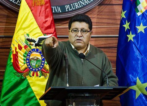 El senador por el MAS, Efraín Chambi.
