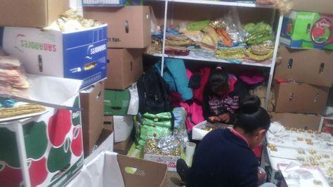 El Ministerio de trabajo encontró a cinco menores de edad trabajando en un taller bajo condiciones de encierro.