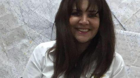 La exfuncionaria de AASANA, Celia Castedo.