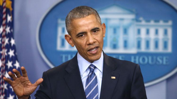 Barack Obama durante una rueda de prensa en la Casa Blanca, el 16 de diciembre de 2016