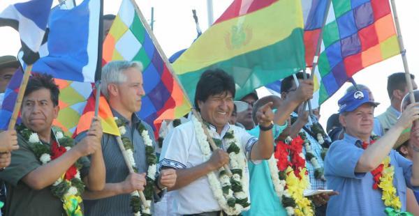 Evo Morales es el candidato de los masistas a la presidencia